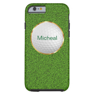 Golf Monogram Style Tough iPhone 6 Case