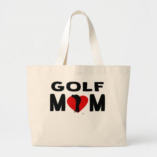 Golf Mum Large Tote Bag