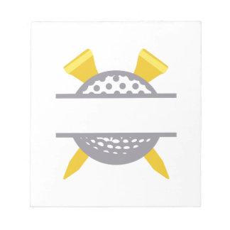 Golf Namedrop Notepad