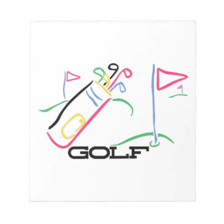 Golf Notepad