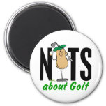 Golf Nut 2 Magnet