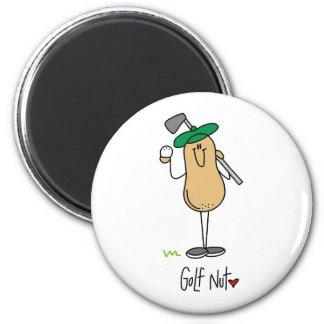 Golf Nut Fridge Magnet
