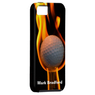 Golf on Fire IPHONE-5 Case iPhone 5 Cases