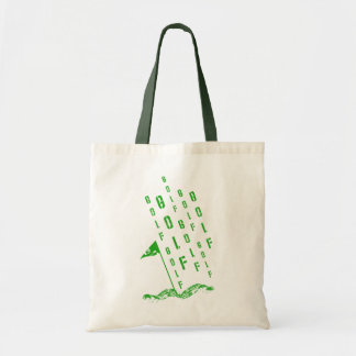 Golf, On the Green Budget Tote Bag