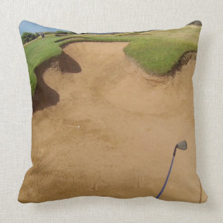 Golf Oo Not The Bunker, Large Throw Cushion. Cushion