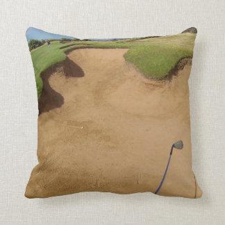 Golf Oo Not The Bunker, Throw Cushion. Cushion