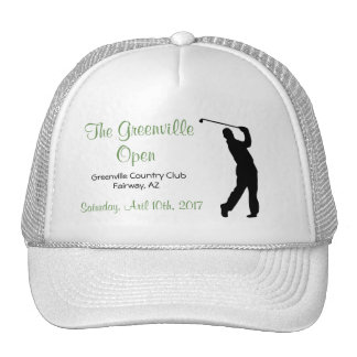 Golf Open Event Sport Trucker's Hat Corporate