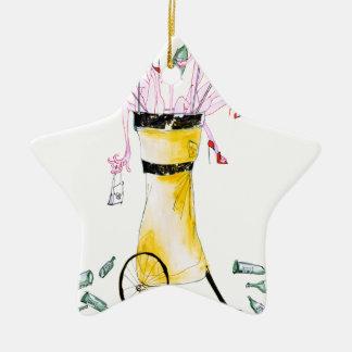 golf party bag, tony fernandes ceramic star decoration