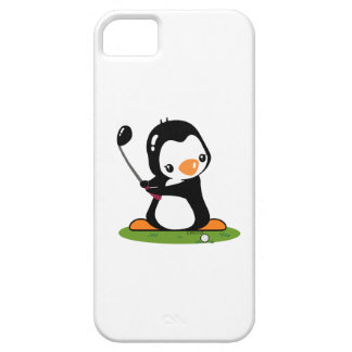 Golf Penguin Barely There iPhone 5 Case