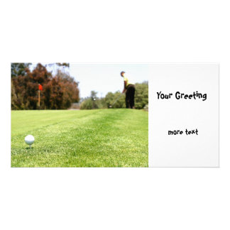 Golf Personalized Photo Card