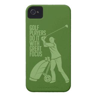 GOLF PLAYER custom Blackberry case