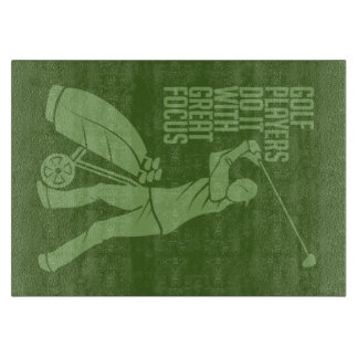 GOLF PLAYER custom cutting board