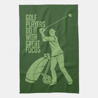 GOLF PLAYER custom hand towel
