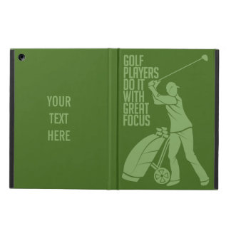 GOLF PLAYER custom monogram cases