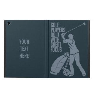 GOLF PLAYER custom monogram cases iPad Air Cover