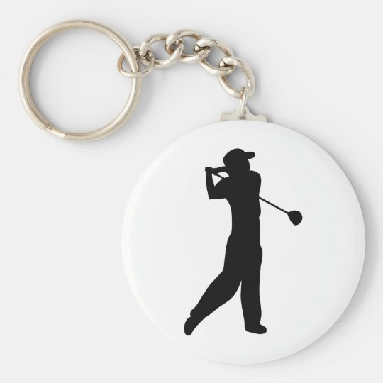golf player key ring