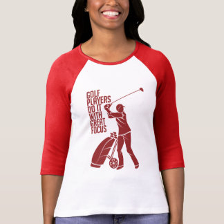 GOLF PLAYER shirt - choose style & color