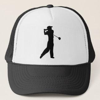 golf player trucker hat