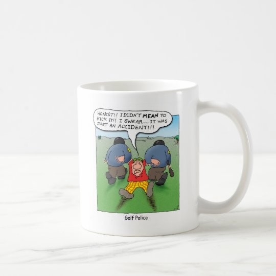Golf Police Coffee Mug