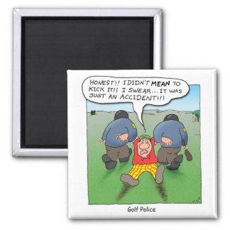 Golf Police Magnet