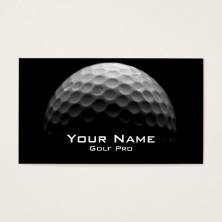 Golf Pro Business Card