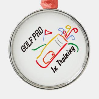 Golf Pro Christmas Ornament