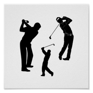 Golf Pro Poster