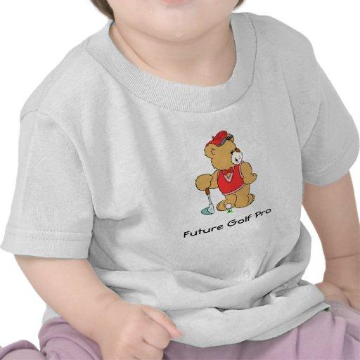 Golf Pro Teddy Bear T Shirts