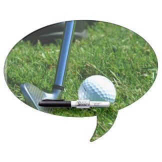 Golf Putt Dry-Erase Board
