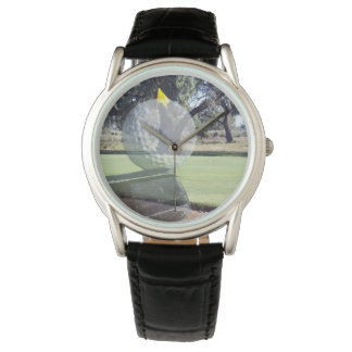 Golf Putter Ball Layered Composition, Watch