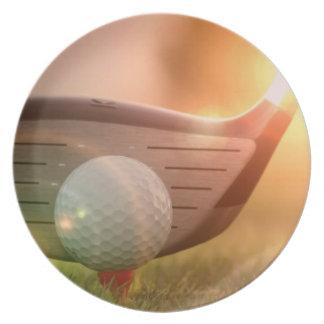 Golf Putter Plate