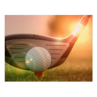 Golf Putter Postcard