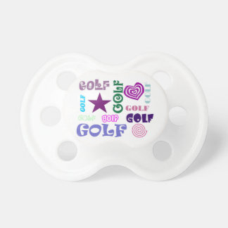 Golf Repeating Baby Pacifiers