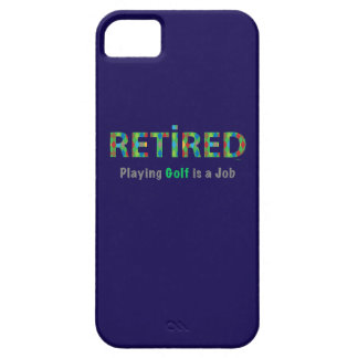GOLF - Retired, Playing Golf is a JOB iPhone 5 Covers