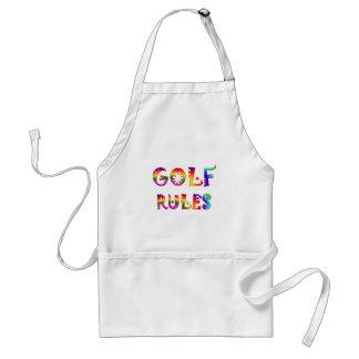 Golf Rules Standard Apron