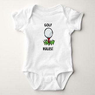 Golf Rules! Infant Creeper
