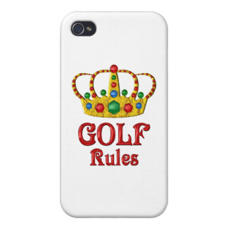 GOLF RULES CASES FOR iPhone 4