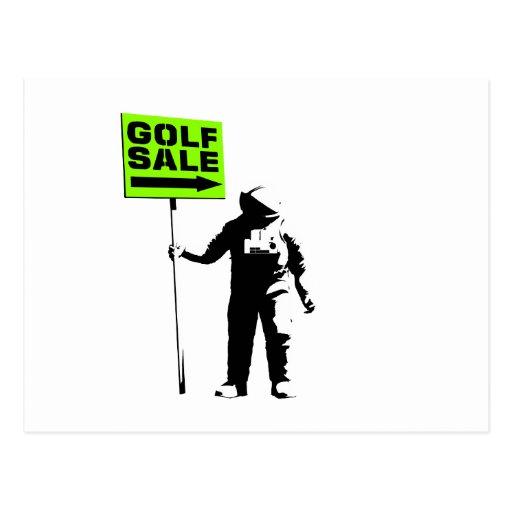 Golf Sale Post Card