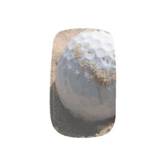 Golf Sand Pit Minx ® Nail Art