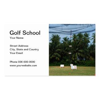 Golf School Business Card Business Card