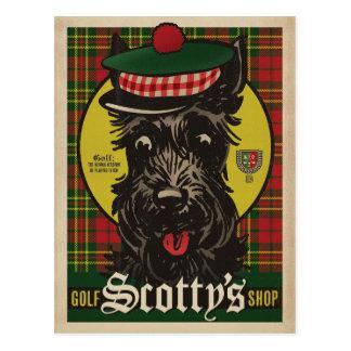 Golf Scotty's Shop Postcard