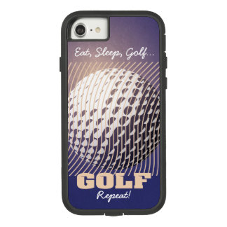 Golf series 1 flesh tone on purple Case-Mate tough extreme iPhone 8/7 case