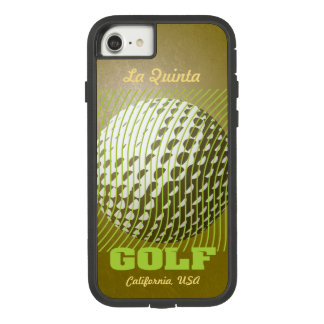 Golf series 1 lime on gold tone Case-Mate tough extreme iPhone 8/7 case
