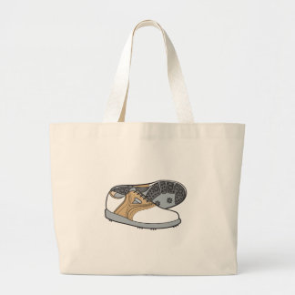 golf shoes large tote bag
