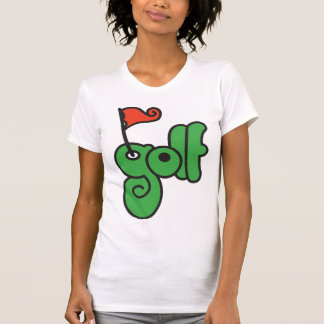 Golf Sign Womens T-Shirt