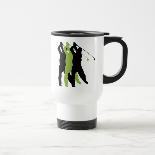 Golf Silhouette Travel Mug