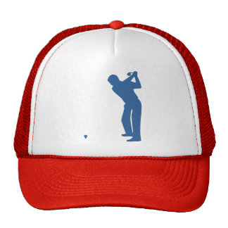Golf Silhouette Trucker Hat
