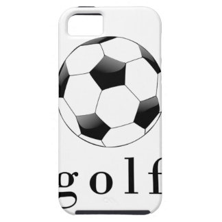 Golf Soccer Ball Funny Sports T-Shirt iPhone 5 Cover