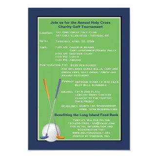 Golf Spirit Charity Tournament Invitation