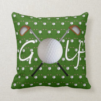 Golf Square Pillow